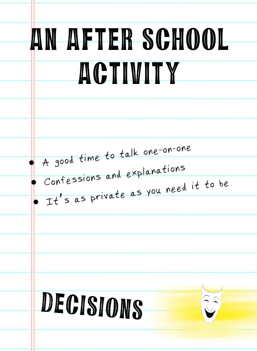 An After School Activity